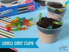 Oreo Dirt Cups | cru