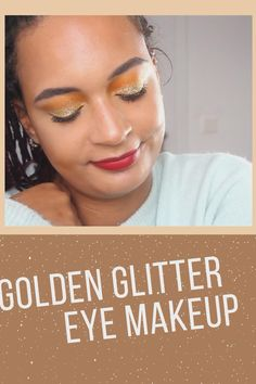 Do you want to impress your friends at the next party with your makeup skills? Or generally just want to try out something new and glittery? Make sure you watch the full video, by clicking on this image and follow the shown steps! No one will be able to keep their eyes off of you! 🧡
