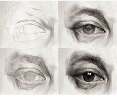 Learn To Draw Eyes – Drawing On Demand - realistic drawings Anatomy Drawing, Anatomy Art, Pencil Art Drawings, Art Drawings Sketches, Pencil Sketching, Eye Drawings, Realistic Eye Drawing, Arte Sketchbook, Art Graphique