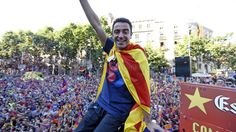 Xavi Hernández #FCBarcelona  #6 #6ràciesXavi #Tripl3t