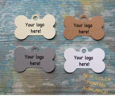 Étiquettes personnalisées, étiquettes pour accessoires de produits pour animaux «Chien» de la boutique Lamainalacarte sur Etsy