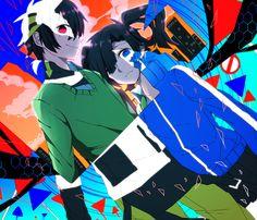 "Kagerou Project | Haruka ""Konoha"" Kokonose  Enomoto ""Ene"" Takane"