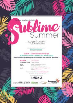 A Sublime Summer Concert by the Rand Symphony Orchestra – Hannie Hefer Promotions