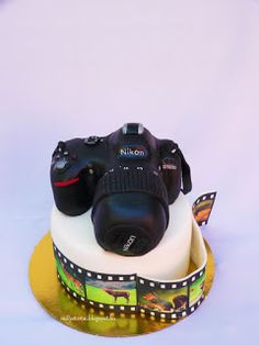 Photo camera cake Camera Cakes, Toys, Activity Toys, Clearance Toys, Gaming, Games, Toy, Beanie Boos