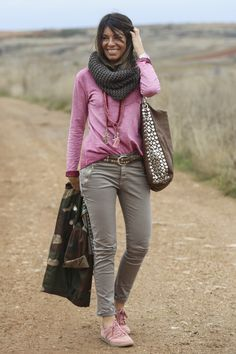 pink patches sweatshirt