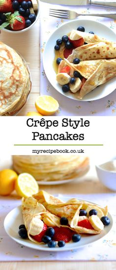 Sweet and Savory Crepes | Recipe | Savory Crepes, Crepes and Berries