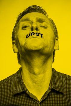 Thomas Nicolai - comedy program - designed by Burkhard Neie