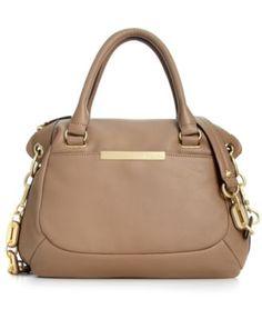 Calvin Klein Handbag, Washington Leather Satchel