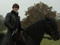 Sam Riley as Colonel Fitzwilliam Darcy in Pride and Prejudice and Zombies.