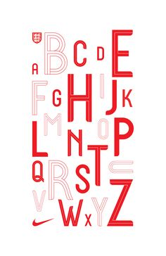 Designing England's World Cup kit typeface - Creative Review