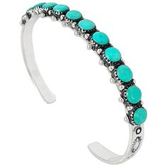 925 Sterling Silver Bracelet with Genuine Turquoise * You can get additional details at the image link. #BestSellers