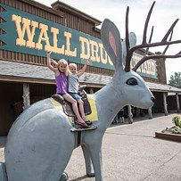 Do anything but rest at the wackiest rest stop there is. Wall Drug is an eccentric (and famously self-advertised) shop like no other. Located right by the Badlands of South Dakota, this place has giant animals, unique trinkets, 5-cent coffee, and just about anything else you could ever think to want from a rest stop. Don't forget to check out the Wall Drug 80-foot dinosaur! | 10 Quirky U.S. Destinations Every Wanderer Should Discover