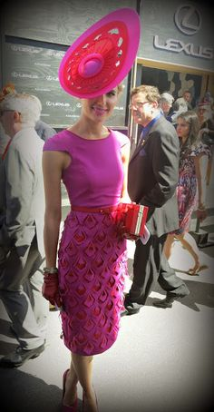 Love the Colorblocking trend- great for Breeders Cup Championships and Spring Carnival: Have Shoes, Will Party: Melbourne Cup