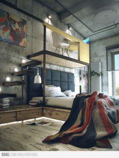 Así quiero mi cuarto :]