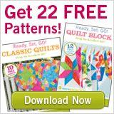 22 patrones patchwork gratis