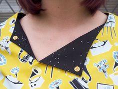 Laneway Dress by Smile & Make. Novelty print dress.