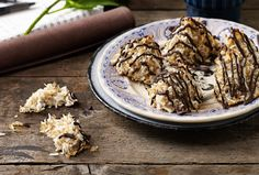 Chocolate Tipped Macaroons - I Quit Sugar  We're just over half way through Sugar-Free September so thought we'd share a fructose-free treat from the IQS Chocolate Cookbook. This Chocolate Tipped Macaroon is perfect to convince friends and family that quitting sugar can be very delicious.