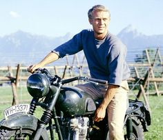 """Steve McQueen from the movie """"Great Escape"""""""