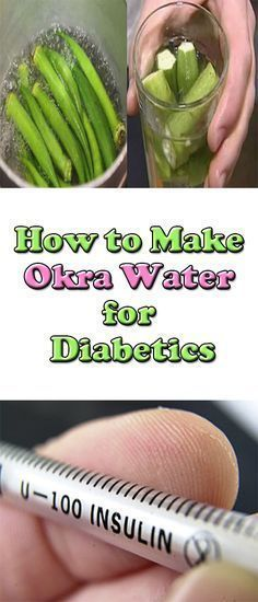 Make sure to talk with Dr first.How to Make Okra Water for Diabetics Are you diabetic? Then you might have wondered if there are any natural remedies that can help treat someone who has the condition. Diabetes Remedies, Cure Diabetes, Health Remedies, Diabetes Care, Diabetes Awareness, Diabetes Diet, Natural Medicine, Herbal Medicine, How To Make Okra