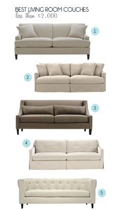 Best Affordable Couches | Quality Furniture Staples