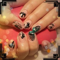 cage-bird nails
