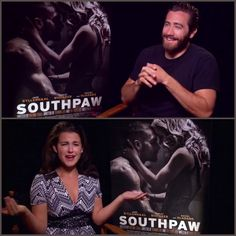 VIDEO: Jake Gyllenhaal being cute& to make any gal happy! Jake Gyllenhaal, Make Me Happy, Compliments, Interview, Entertainment, Shit Happens, Cute, Movie Posters, Fictional Characters