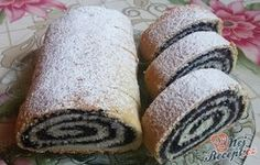 197 z Sweet Desserts, Holiday Desserts, Sweets Recipes, Baking Recipes, Challa Bread, Czech Recipes, Oreo Cupcakes, Party Finger Foods, Hungarian Recipes