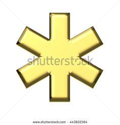 Medical symbol graphic design. 3D rendering illustration