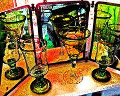 Gläser vor Dreierspiegel Painting, Art, Scrappy Quilts, Mirrors, Art Background, Painting Art, Kunst, Paintings, Gcse Art