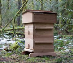 We love Warre hives for their simplicity, ease of management and success.