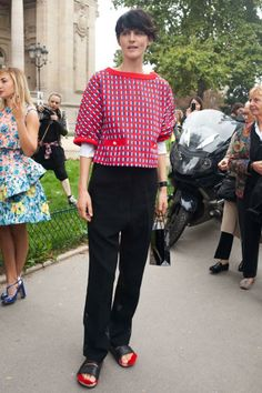 models.com - PFW SS14 Street Style Part 2 by Melodie Jeng