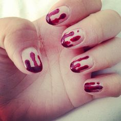 Halloween nails #6