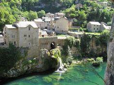 Saint-Chély-du-Tarn,Sainte Enimie,France.