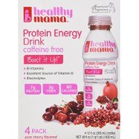 Healthy Mama Boost It Up Ready to Drink Protein, Pom Cherry Flavored, 48 fl oz @ mynutritionalhealth.info