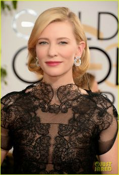 Celeb Diary: Cate Blanchett @ 2014 Golden Globe Awards