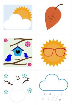 Slide3 Kids Learning, Montessori, Playing Cards, Games, Children, Weather, Seasons Of The Year, Young Children, Boys
