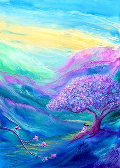"""Meditation in Mauve"" Artist:Jane Small"