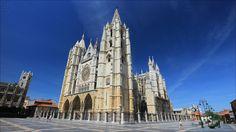 Santa María de León Cathedral - Santa María de León Cathedral (1205-1301) - León - Castilla y León - Spain