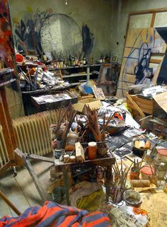Francis Bacon studio                                                                                                                                                                                 More