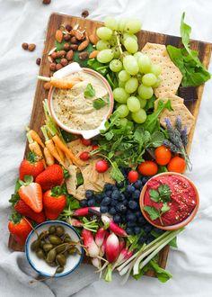 Hummus Crudité Platter — Anett Velsberg