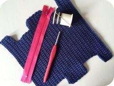 Vicki Brown Designs: Box Pencil Case :: A Crochet Pattern ::