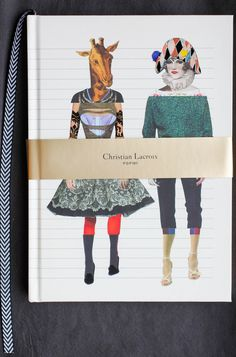 Christian Lacroix Journal, featuring exquisite corpse flip pages.