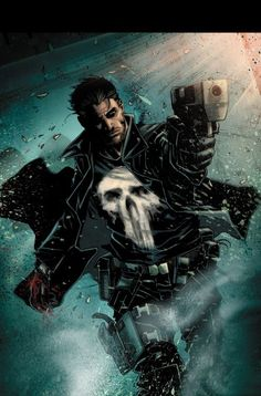 The punisher by Clayton Crain