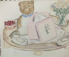Chloe baby shoes drawing