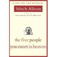 The Five People You Meet in Heaven, Mitch Albom.......... I actually loved this book! (yes, I read!)