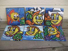 Freddi Fish Icon Set by CuteBeadBows on Etsy