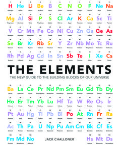 The Elements: An Interactive Guide to the Building Blocks of our Universe is an illustrated reference book to the elements that make up everything in our universe. General information about the properties, behaviour and occurrence of the elements, their main compounds and their principal uses is given. It is authoritative and accessible, with a sense of wonder about the way the material world works, thanks to the protons, neutrons and electrons that make up the atoms of the elements. £14.99