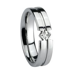 Tungsten Ring polished shiny  RRP:  Price:$79.00