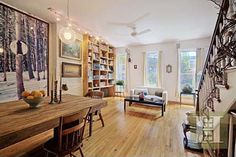 Terrarium artist Paula Haye's NYC home.