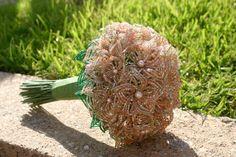 beaded bouquet